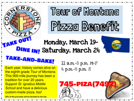 Tour of Montana Pizza Benefit