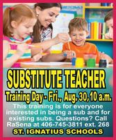 Substitute Teacher Training Day