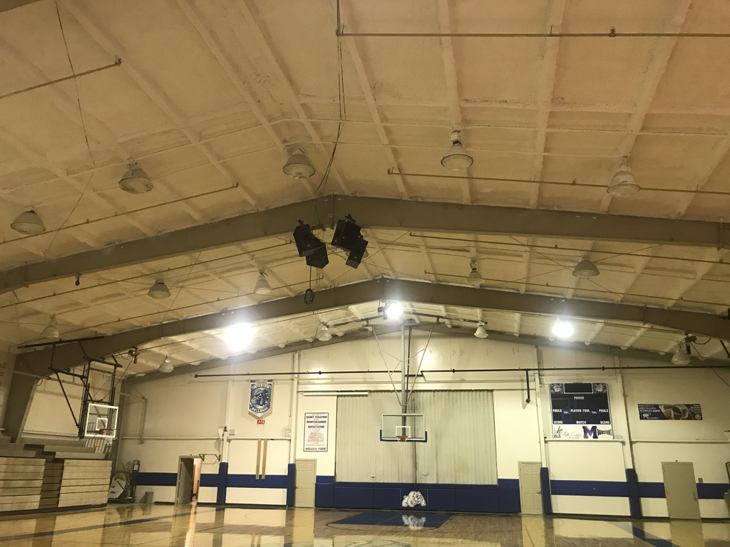 Old Gym Ceiling Complete