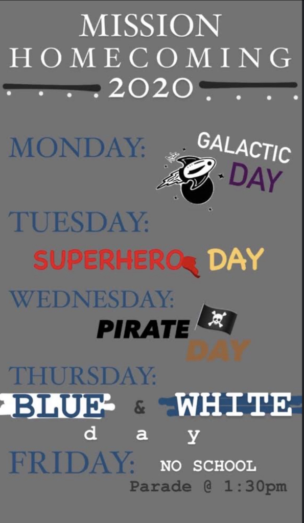 HS Dress Up Days