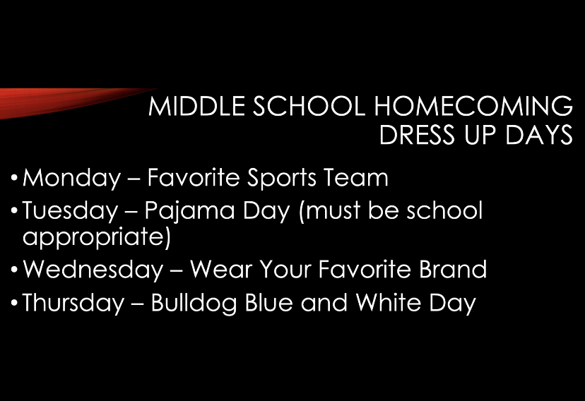 MS Dress Up Days